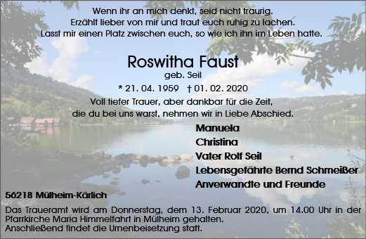 Roswitha Faust