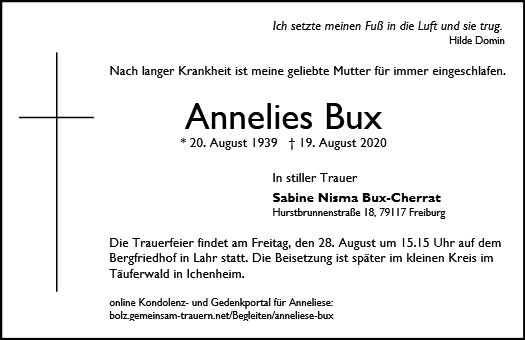 Anneliese Bux